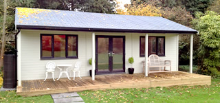 Phoenix Garden Room built in Bornemouth