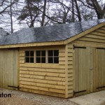 18ft x 12ft Traditional Garage built in Bighton.