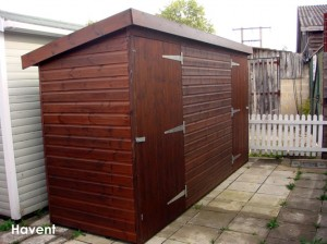 Phoenix Shed built in Havant.