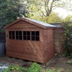 Phoenix Shed built in Lightwater.