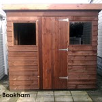 Phoenix Shed built in Little Bookham.