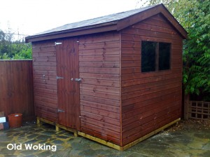 Phoenix Shed built in Old Woking.