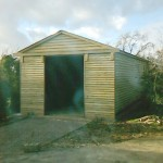 50ft x 20ft Phoenix Traditional Garage Helicopter Hangar built in Wormley.