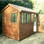 10ft x 6ft Phoenix Apex Shed built in Wisley.