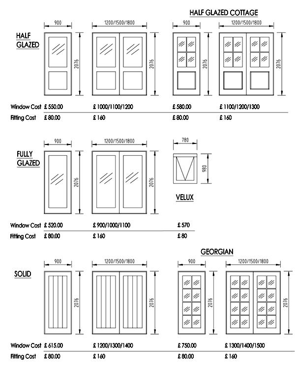 doors range