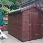 Shed buit in Windsor, Berkshire