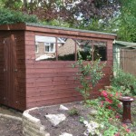 Garden Shed built in Dorney, Berkshire