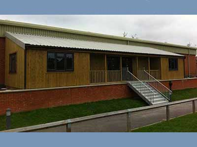 Picture of a pavilion in Farnham, Surrey