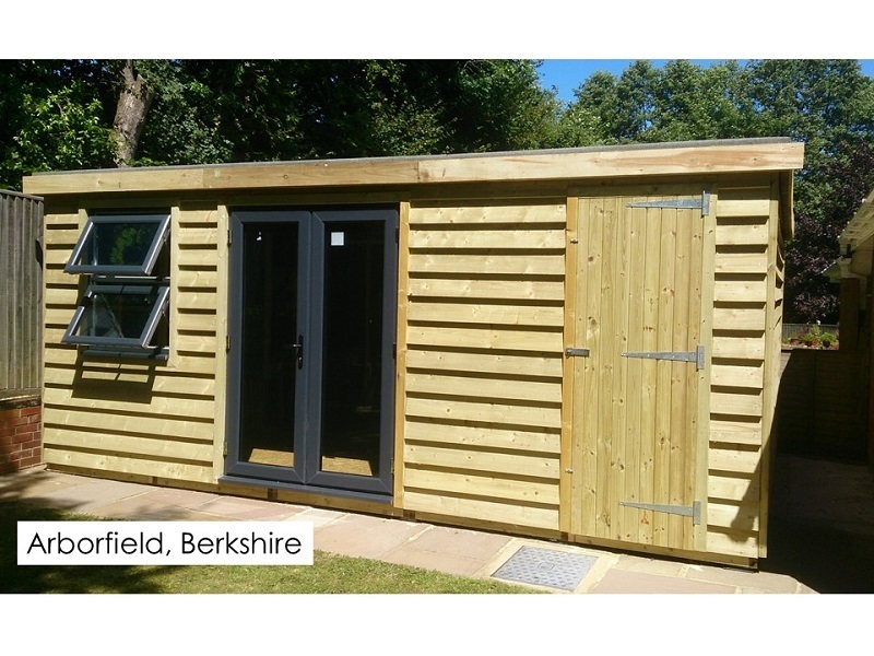 Garden Pod and Premium Workshop in Arborfield, Berkshire