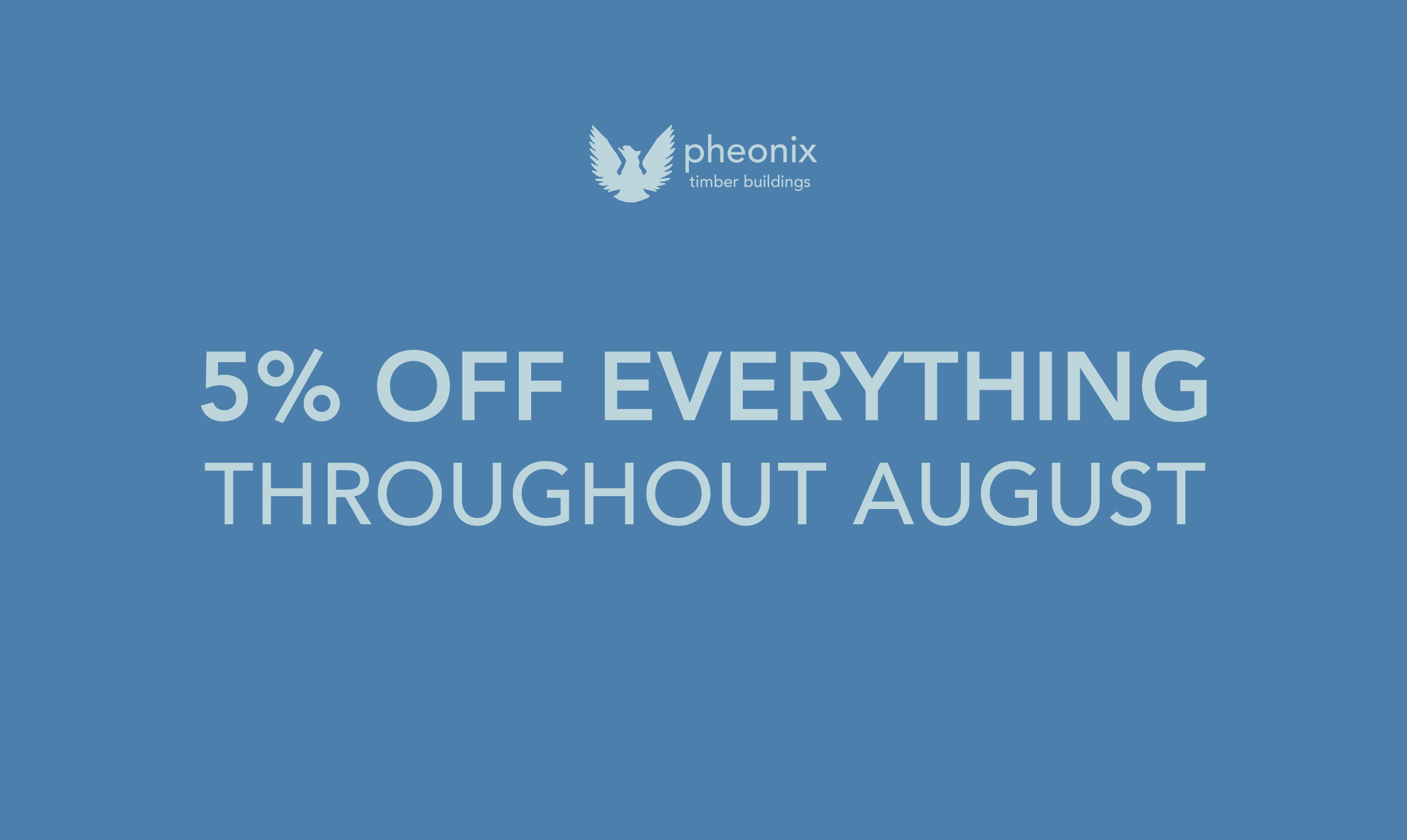 August Sale Graphic