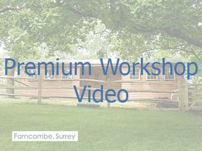 Click on the image to be taken to a video on premium workshops