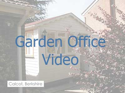 Click on the image to be taken to a video on garden offices