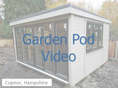 Click on the image to be taken to a video on garden pods