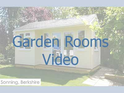 Click on the image to be taken to a video on garden rooms