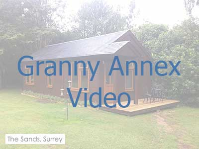 Click on the image to be taken to a video on granny annexes