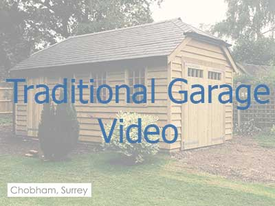 Click on the image to be taken to a video on traditional garages