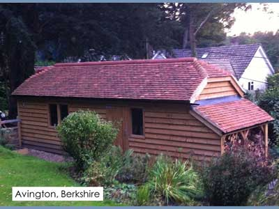 picture of a traditional garage in Avington-Berkshire