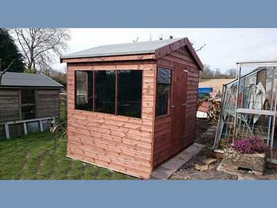 picture of a garden shed in Shottesbrooke, Berkshire
