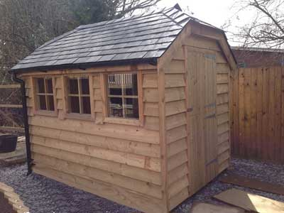 Picture of a garden shed in Houghton, West Sussex