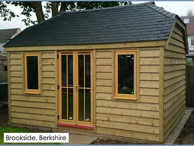 Picture of a garden room we built in Brookside, Berkshire