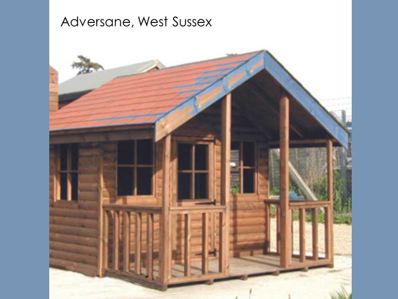 Playhouse in Adversane, West Sussex