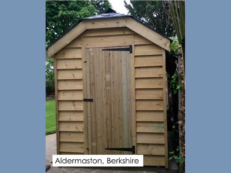 Garden Shed in Aldermaston, Berkshire