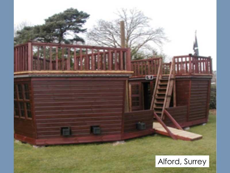 Playhouse in Alford, Surrey