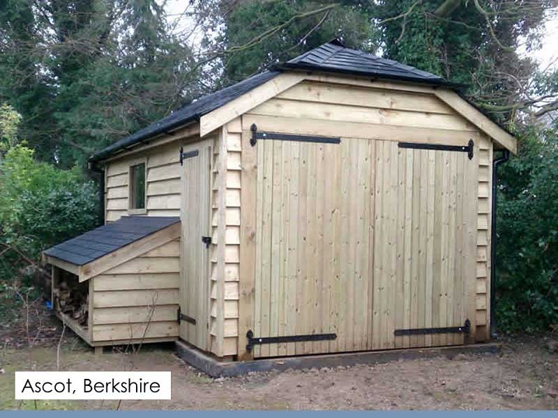 Traditional Garage in Ascot, Berkshire