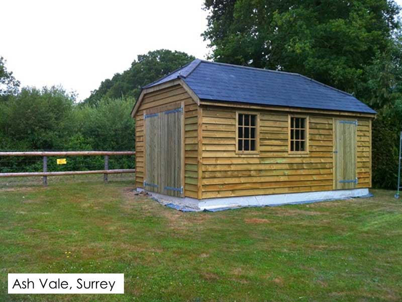 Traditional Garage in Ash Vale, Surrey