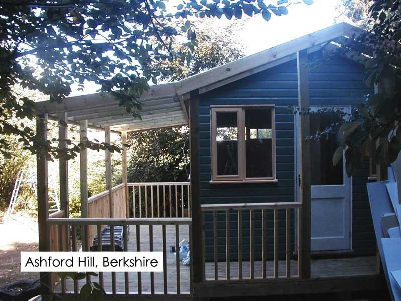 Garden Studio in Ashford Hill, Berkshire