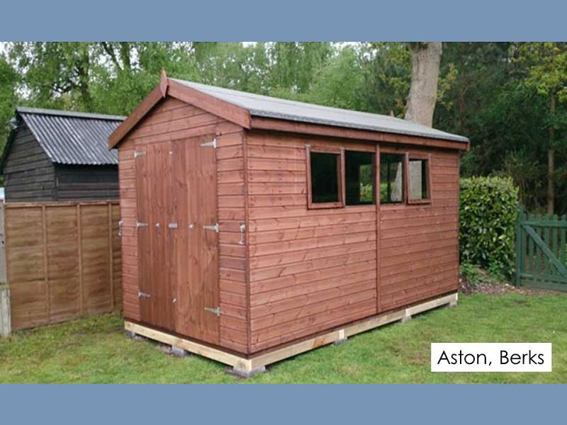 Timber Workshop in Aston, Berkshire