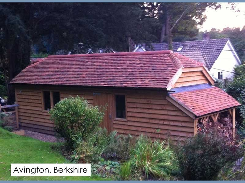Traditional Garage in Avington, Berkshire