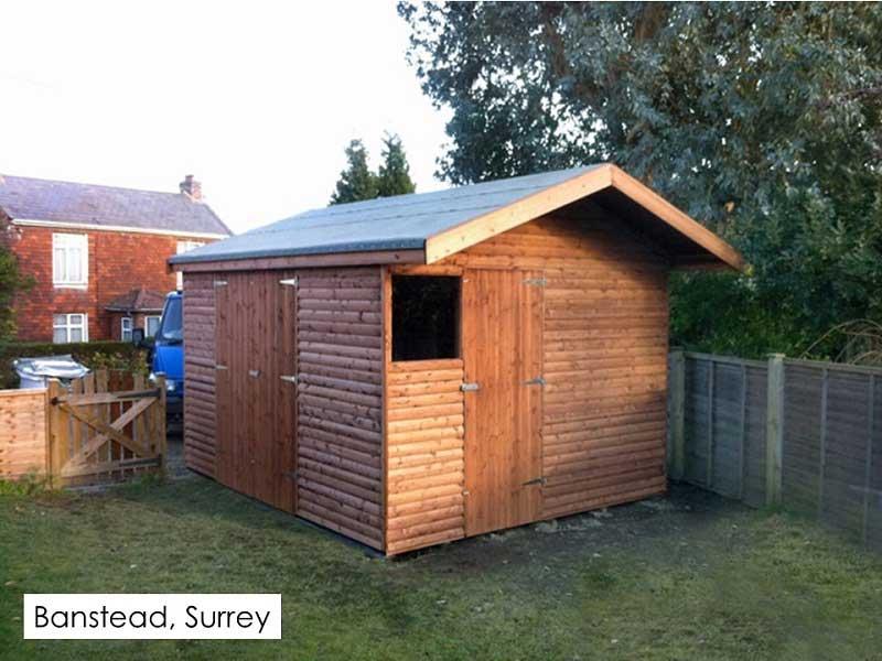Timber Workshop in Banstead, Surrey