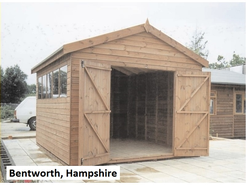 Timber Workshop in Bentworth, Hampshire