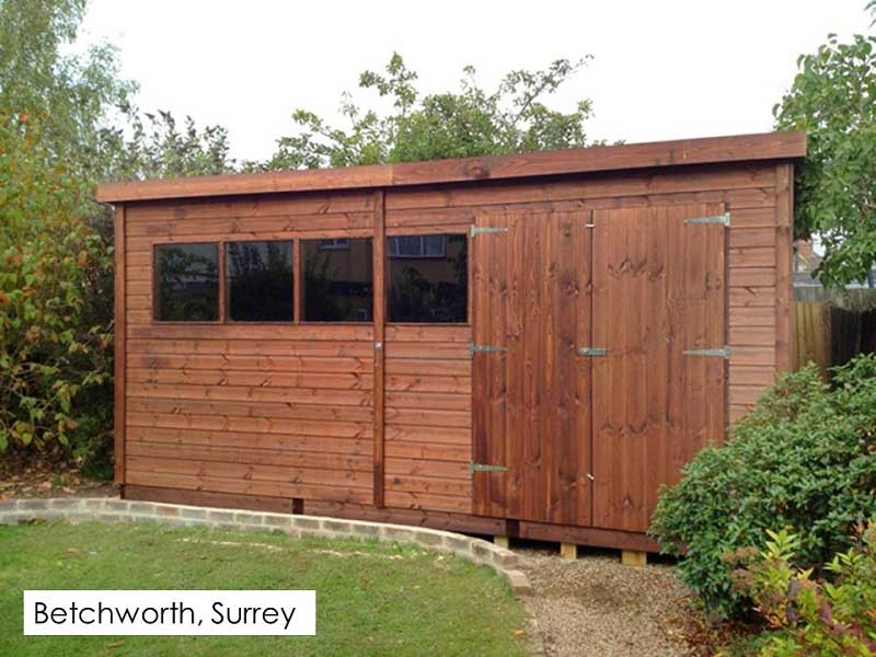 Premium Timber Workshop in Betchworth, Surrey