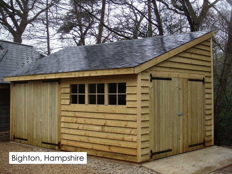 Traditional Garage in Bighton, Hampshire