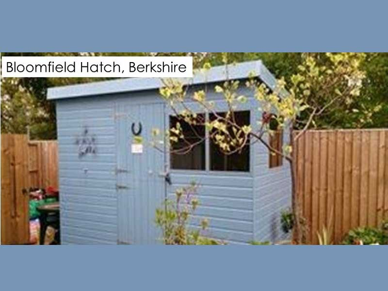 Garden Shed in Bloomfield Hatch, Berkshire