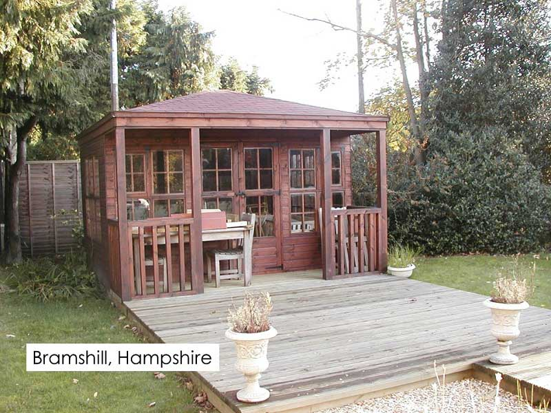Premium Summerhouse in Bramshill, Hampshire
