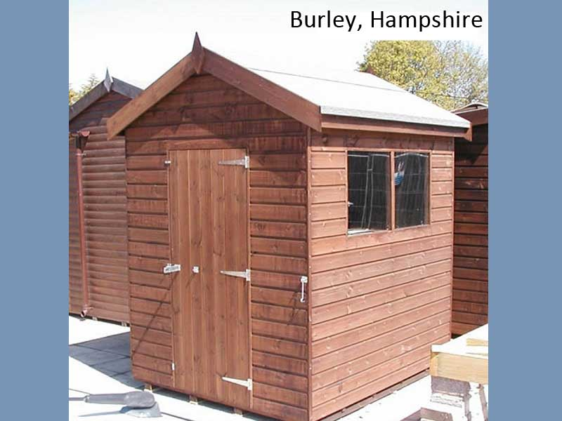 Garden Shed in Burley, Hampshire