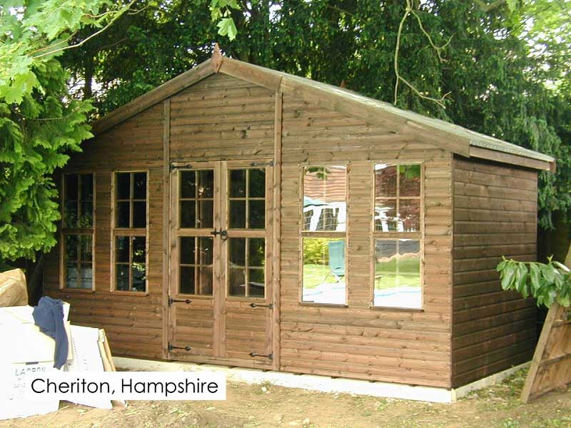 Premium Summerhouse in Cheriton, Hampshire