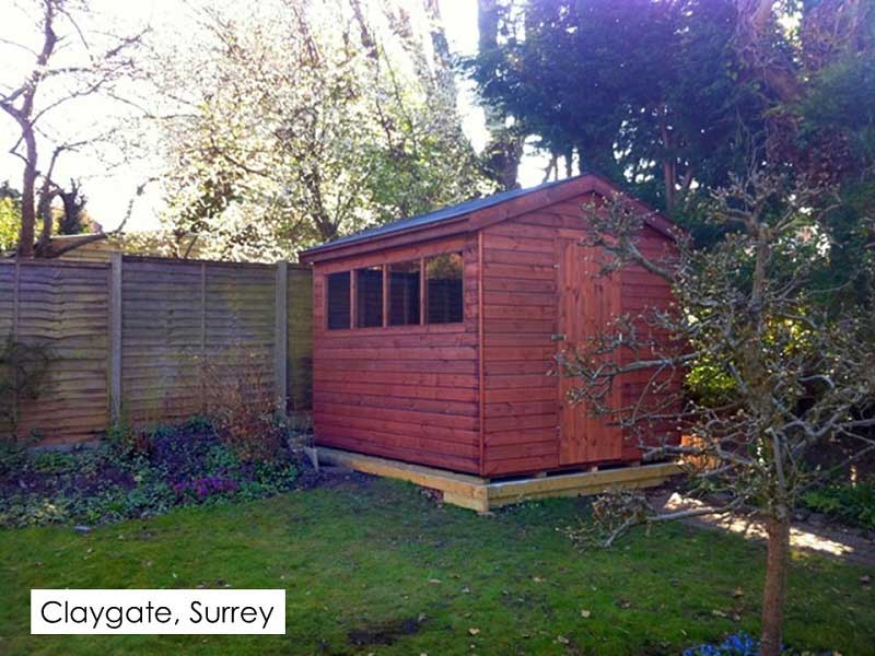 Timber Workshop in Claygate, Surrey