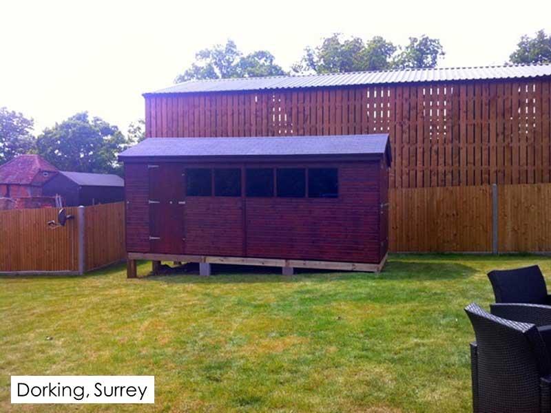 Timber Workshop in Dorking, Surrey