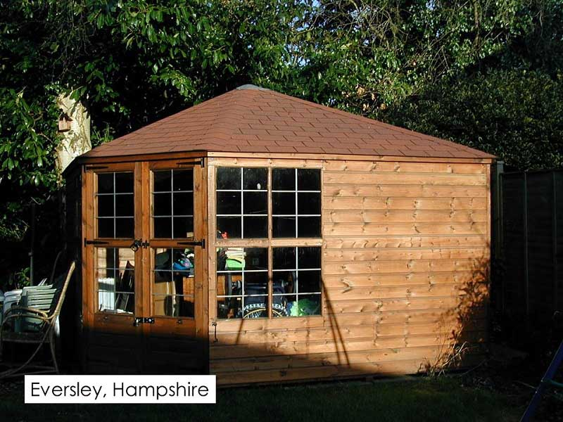 Summerhouse in Eversley, Hampshire