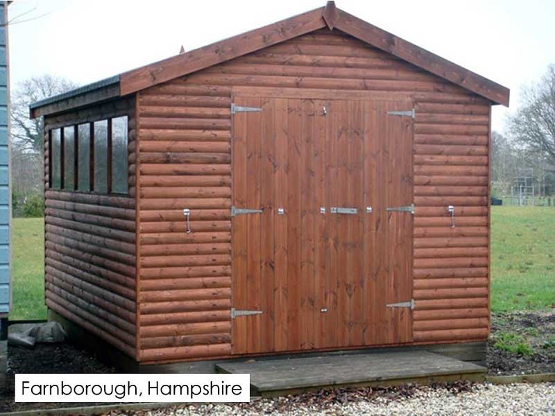 Timber Workshop in Farnborough, Hampshire