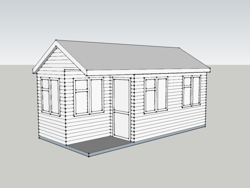 Garden Office in Knaphill, Surrey