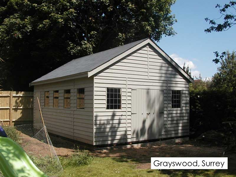 Premium Timber Workshop in Grayswood, Surrey
