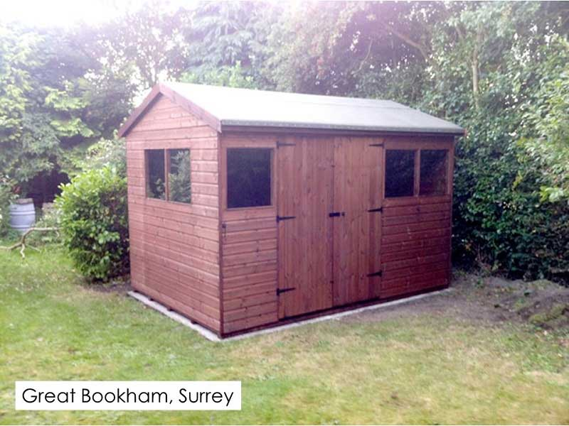 Timber Workshop in Great Bookham, Surrey