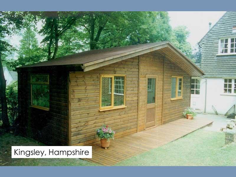 Garden Room in Kingsley, Hampshire