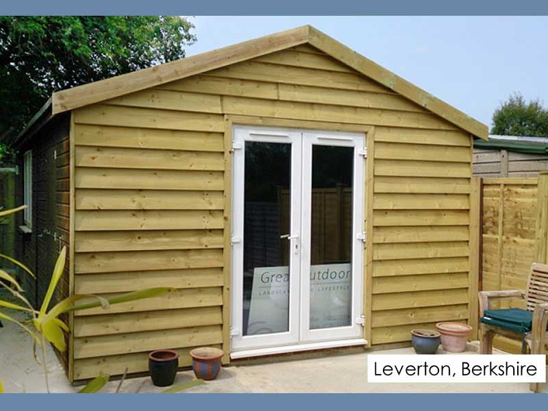 Garden Office in Leverton, Berkshire