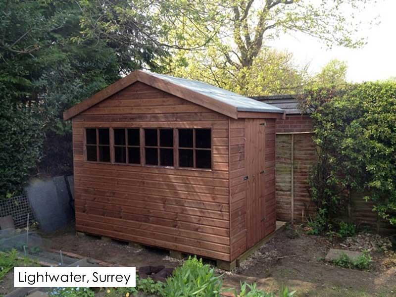 Garden Shed in Lightwater, Surrey